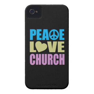 Peace Love Church iPhone 4 Cover