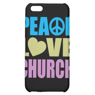 Peace Love Church iPhone 5C Case