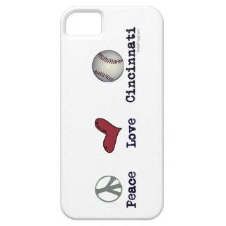 Peace Love Cincinnati iPhone Case iPhone 5 Cover