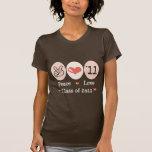 Peace Love Class of 2011 T shirt