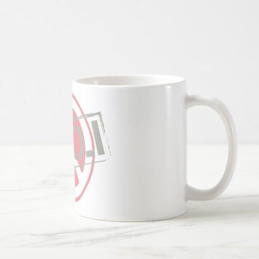 Peace Love Classic White Coffee Mug