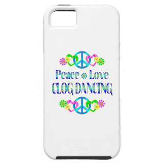 Peace Love Clog Dancing iPhone 5 Covers