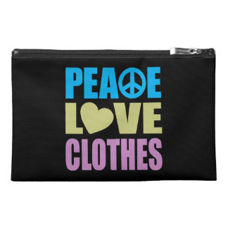 Peace Love Clothes Travel Accessories Bag