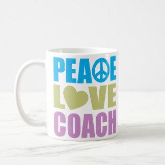 Peace Love Coach Coffee Mug