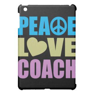 Peace Love Coach iPad Mini Cover