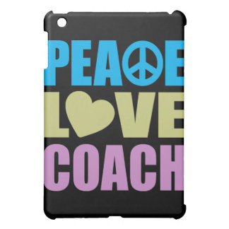 Peace Love Coach iPad Mini Covers