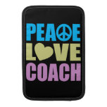 Peace Love Coach MacBook Air Sleeve