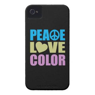 Peace Love Color Case-Mate iPhone 4 Case