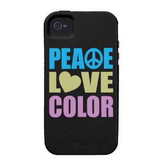 Peace Love Color iPhone 4/4S Cover