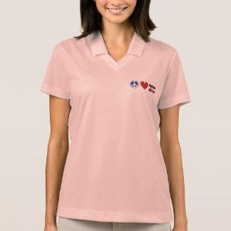 Peace Love Colorado Polo Shirt