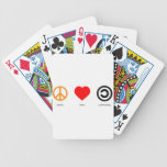 Peace Love Community Card Deck