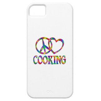 Peace Love Cooking iPhone SE/5/5s Case