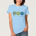 Peace Love Cosmology T Shirts