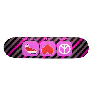 Peace Love Costa Rica Skate Board