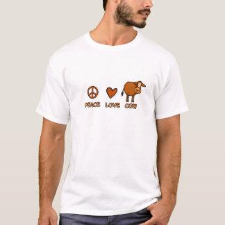 peace love cow T-Shirt
