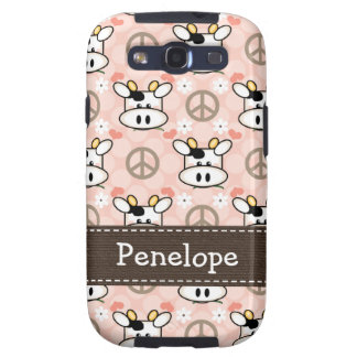 Peace Love Cows Galaxy SIII Cover