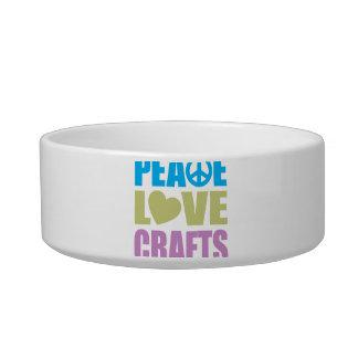 Peace Love Crafts Bowl