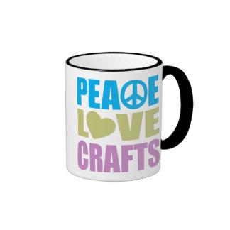 Peace Love Crafts Mugs