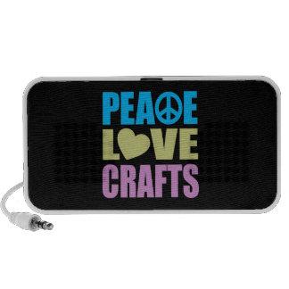 Peace Love Crafts Speaker