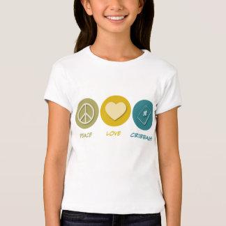 Peace Love Cribbage T-Shirt
