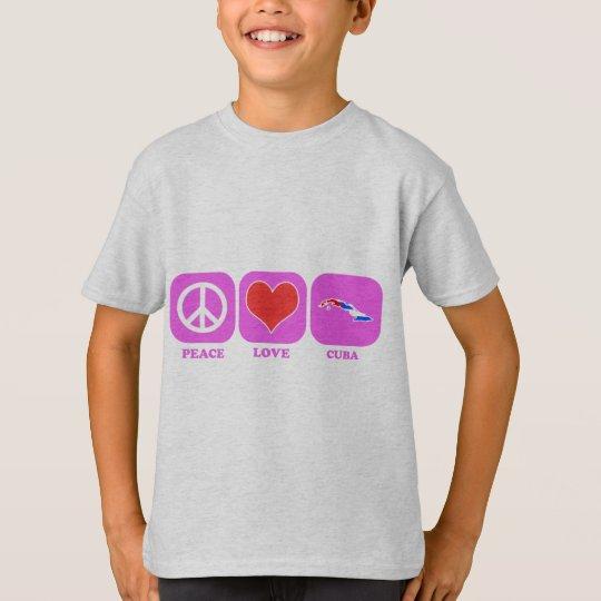 Peace Love Cuba T-Shirt