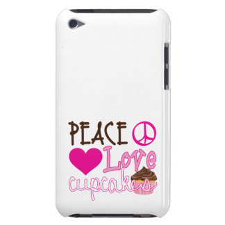 Peace, Love, Cupcakes Barely There iPod Cover