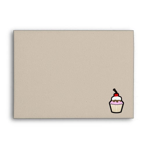 Peace, Love, Cupcakes Envelope