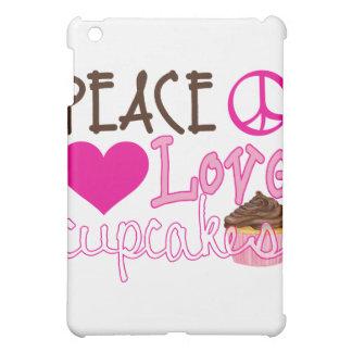 Peace, Love, Cupcakes iPad Mini Case