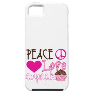 Peace, Love, Cupcakes iPhone SE/5/5s Case