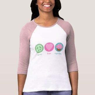 Peace, Love & Cupcakes T-Shirt shirt