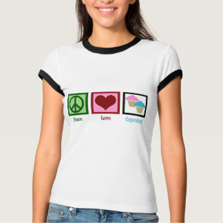 Peace Love Cupcakes T-Shirt