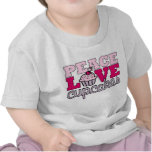 Peace, Love & Cupcakes! T Shirts