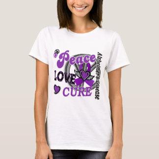 Peace Love Cure 2 Alzheimer's Disease T-Shirt