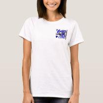 Peace Love Cure 2 Ankylosing Spondylitis T-Shirt