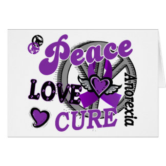 Peace Love Cure 2 Anorexia Cards