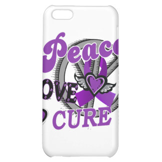 Peace Love Cure 2 Anorexia Cover For iPhone 5C