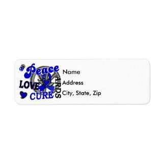 Peace Love Cure 2 ARDS Label