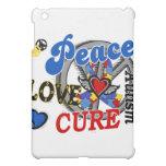 Peace Love Cure 2 Autism Cover For The iPad Mini
