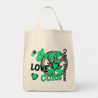 Peace Love Cure 2 Celiac Disease Bags
