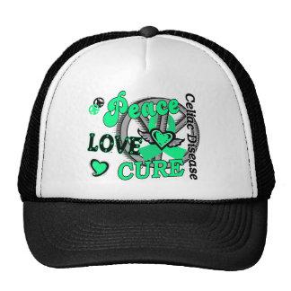 Peace Love Cure 2 Celiac Disease Trucker Hat