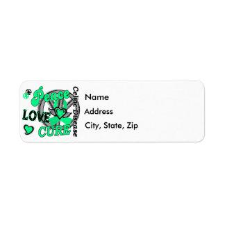 Peace Love Cure 2 Celiac Disease Label
