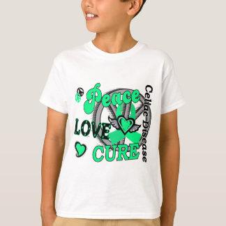 Peace Love Cure 2 Celiac Disease T-Shirt