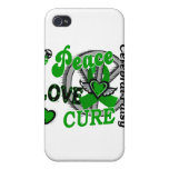 Peace Love Cure 2 Cerebral Palsy iPhone 4/4S Covers