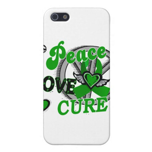 Peace Love Cure 2 Cerebral Palsy Covers For iPhone 5