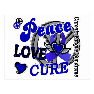 Peace Love Cure 2 CFS Post Cards