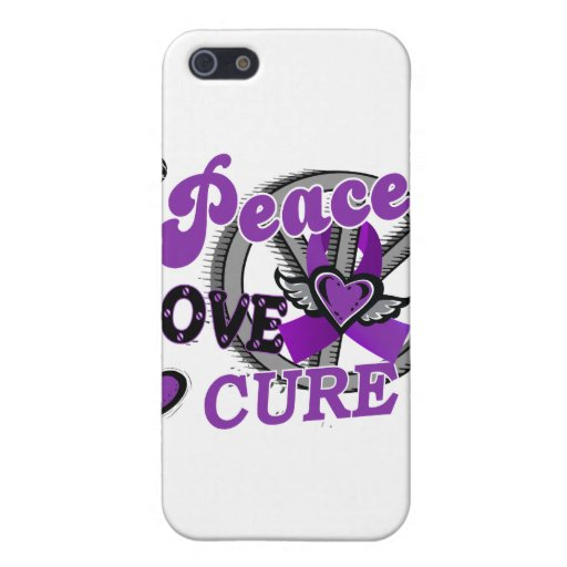 Peace Love Cure 2 Chiari Malformation iPhone 5 Covers