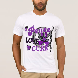 Peace Love Cure 2 Chiari Malformation T-Shirt