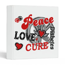 Peace Love Cure 2 Diabetes Binder