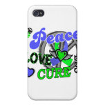 Peace Love Cure 2 EDS Covers For iPhone 4
