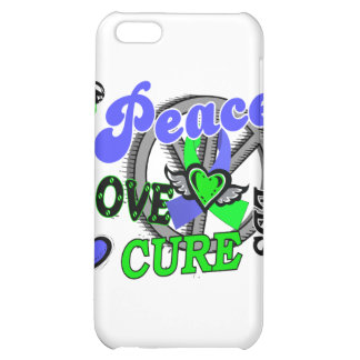 Peace Love Cure 2 EDS iPhone 5C Cover
